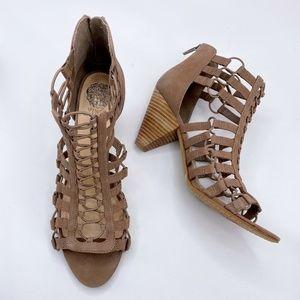 Vince Camuto Elanso Caged Sandal Size 13